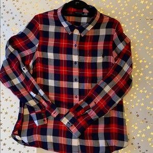 Tommy Hilfiger • Plaid • Button Down Shirt